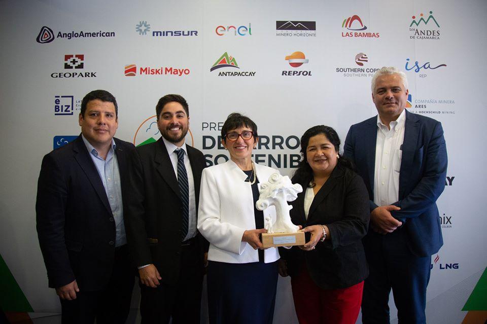 ENGIE fue reconocida con el Premio Desarrollo Sostenible 2019