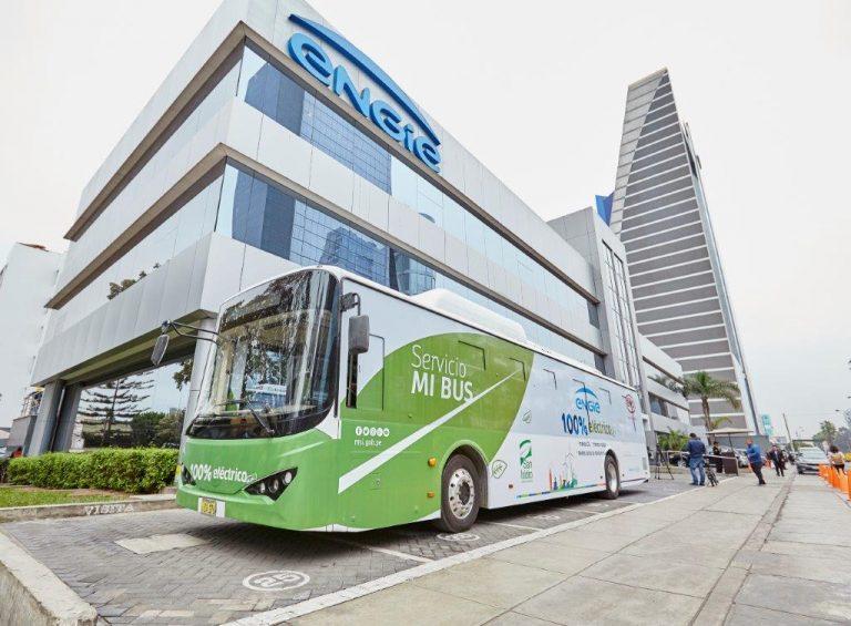 ENGIE pone en circulación primer bus eléctrico en Lima