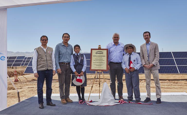Presidente del Perú, Martín Vizcarra, inaugura Central Solar Intipampa de ENGIE
