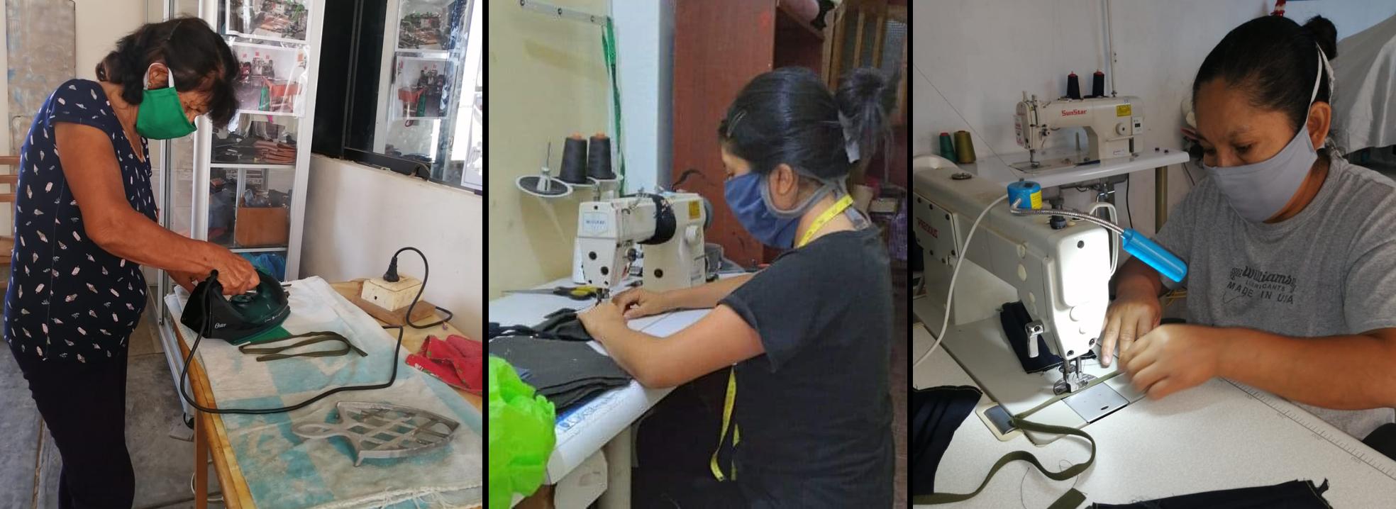 ENGIE promueve con asociación de mujeres emprendedoras confección de mascarillas para emergencia del COVID-19