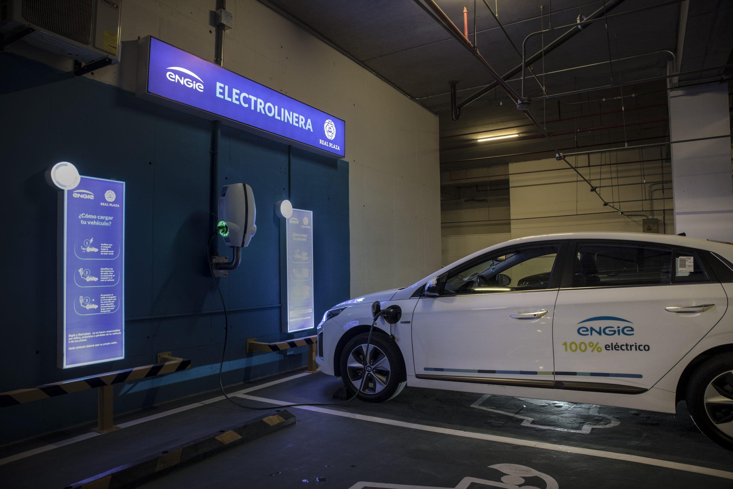 Real Plaza y ENGIE apuestan por el impulso de la movilidad sostenible