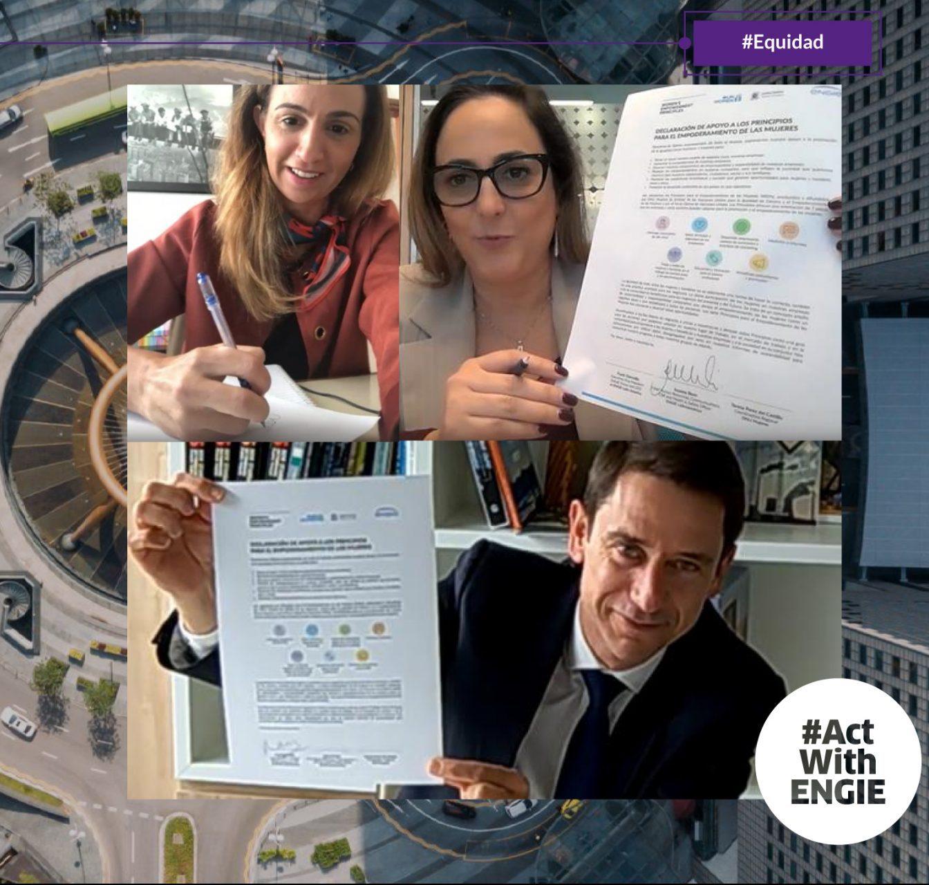ENGIE firma compromiso con ONU Mujeres para seguir Principios para el Empoderamiento de las Mujeres